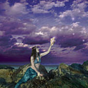 Dream Mermaid Poster