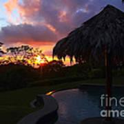 Dream Sunset In Costa Rica Poster