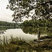 Dreaming Of Fishing At Argyle Lake Poster