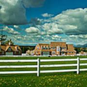 Dreamy Farmhouse Poster
