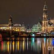 Dresden The Capital Of Saxony II Poster