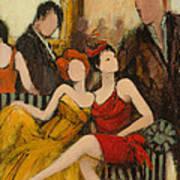 Dress To Impress Poster by Jennifer Croom