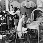 Dressing Room, C1900 Poster
