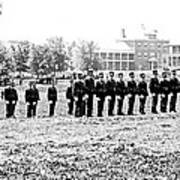 Drilling Soldiers Jefferson Barracks Us Army C 1895 Poster