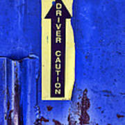 Driver Caution Poster