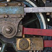 Drivin' Wheel Poster