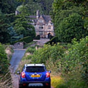 Driving To Manor House Poster