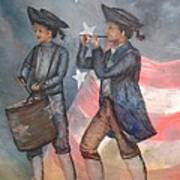 Drum And Fife Player Poster