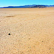 Dry Soil In Death Valley - Color Poster