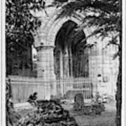 Dryburgh Abbey, 1866 Poster