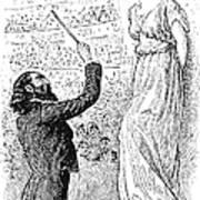 Du Maurier: Trilby, 1894 Poster