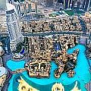 Dubai Downtown - Uae Poster