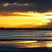 Dublin Bay Sunset Poster