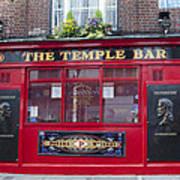 Dublin Ireland - The Temple Bar Poster