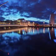 Dublin - Samuel Beckett Bridge Poster