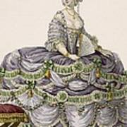 Duchess Evening Gown, Engraved Poster