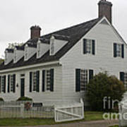 Dudley Diggs House Yorktown Poster