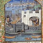Duke Of Orleans, Tower Of London, 1430s Poster