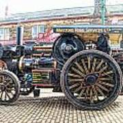 Duke Of York Traction Engine 6 Poster