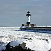 Duluth Harbor Lighthouse Poster