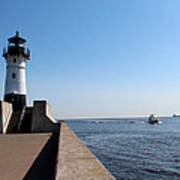 Duluth Harbor North Breakwater Lighthouse Poster