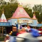 Dumbo Flying Elephants Fantasyland Signage Disneyland 02 Poster