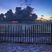 Dunes At Dawn Poster