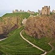 Dunnottar Castle Scotland Poster