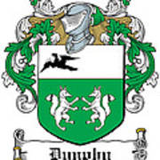 Dunphy Coat Of Arms Irish Poster