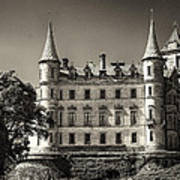 Dunrobin Castle Scotland Poster