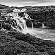 Dunseverick Waterfall Poster
