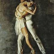 Duo Dance Poster by Podi Lawrence