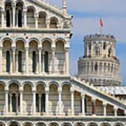 Duomo And Campanile Poster