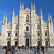 Duomo In Milano. Italy Poster