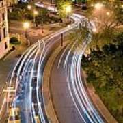 Dupont Circle Traffic I Poster