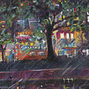 Dupont In The Rain Poster