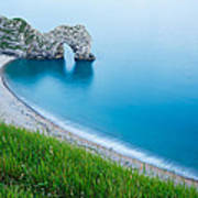Durdle Door In The Evening Poster