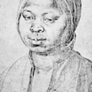 Durer Slave Woman, 1521 Poster
