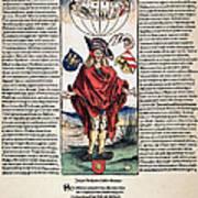 Durer: Syphilitic, 1496 Poster