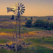 Dusk On The Prairie Poster
