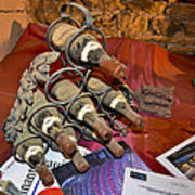 Dust Covered Wine Bottles Poster