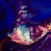 Dust Wave - Temporary Abstract Art By Kredart Poster