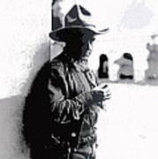 Dustin Farnum On  Set Of Light Of The Western Stars  Las Moros Ranch Southern Arizona 1918-2013  Poster