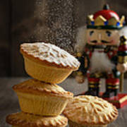 Dusting Mince Pies Poster