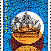 Dutch Dirk Hartog Sailing Ship Poster