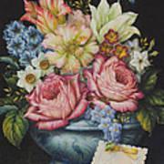 Dutch Flowers Poster