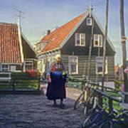 Dutch Traditional Dress Poster