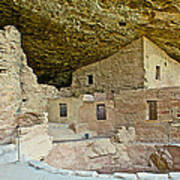 Dwellings In Spruce Tree House On Chapin Mesa In Mesa Verde National Park-colorado  Poster