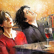 Dylan Moran And Tamsin Greig In Black Books Poster
