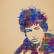 Dylan Watercolor Poster